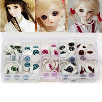20pcs//lot Plastic Bear Doll Animal Puppet Making 12mm Doll Eyeballs Round Eyes