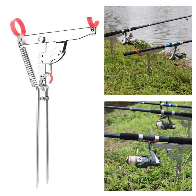 Automatic Fishing Rods Sea Lake Fishing Rod Stainless Steel Self-Lifting Rod Hot