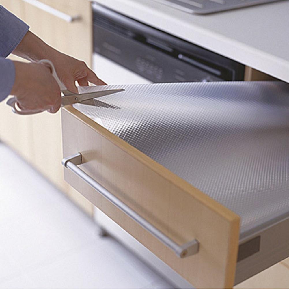 Klar Schublade Liner Rubber Küche Schrank Matte Schrank Tisch ...
