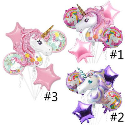 Unicorn Balloons Inflatable Aluminium Foil Great Birthday Party Festival Decor