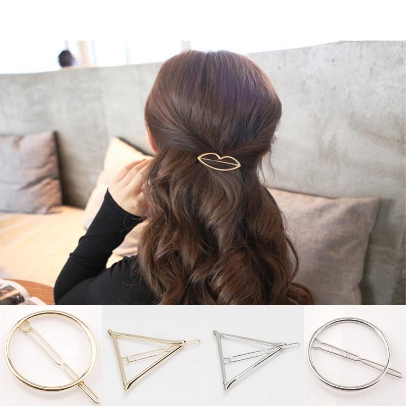 Women Girls Geometric Shape Hollow Tassel Star Fashion Hair Accessories