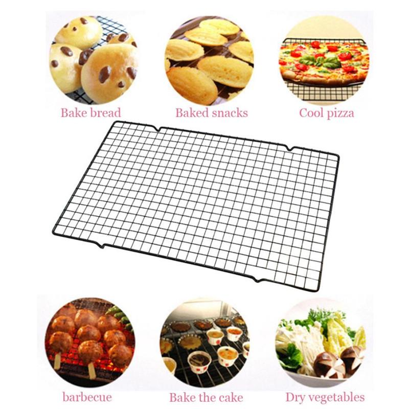 Stainless Steel Wire Cooling Rack Cake Bread Safe Oven Kitchen Baking Tools Buy At A Low Prices On Joom E Commerce Platform