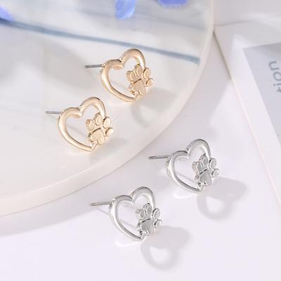 "Bratz 10/"" Doll Gold Coloured Drop Earrings Jewellery Accessories 1.5cm"