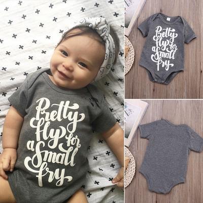 Baby Boy Girl Infant Cotton Stripe Romper Bodysuit Jumpsuit Outfit Clothes 0-24M