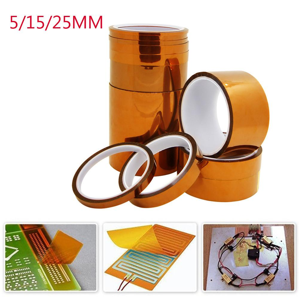 5mm x 100ft Kapton Temperature Heat Resistant  Tape USA SOLD//SHIP