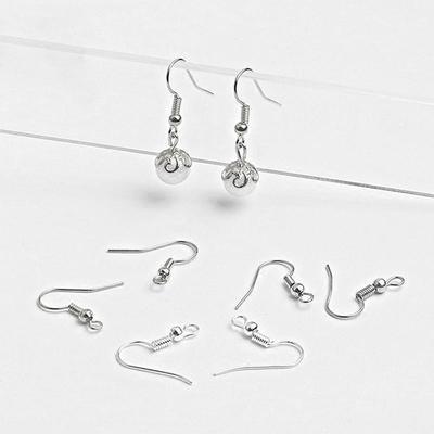 40pcs Brass Ear Wire Earring Hoops for Earrings DIY Jewelry Making Findings