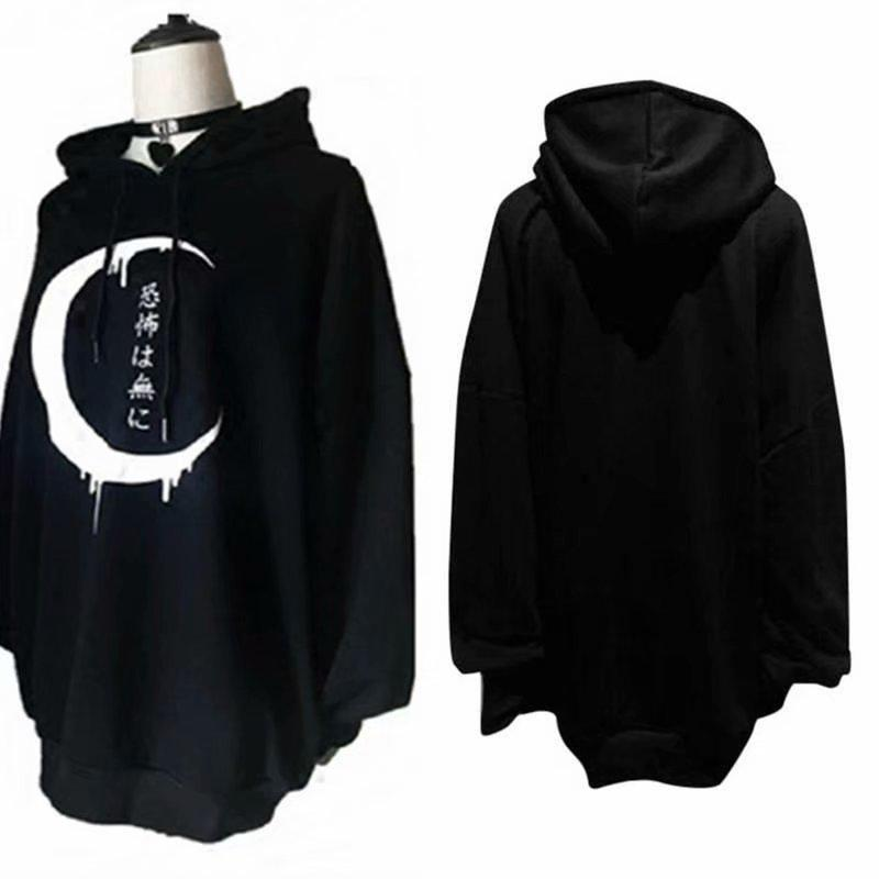 Mens Autumn Loose Stitching Simple Wild Hooded Sweater