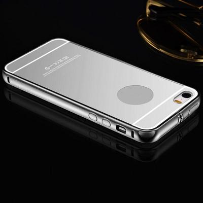 Luxury Aluminum Mirror Metal Case Cover Skin for iPhone 5/5S