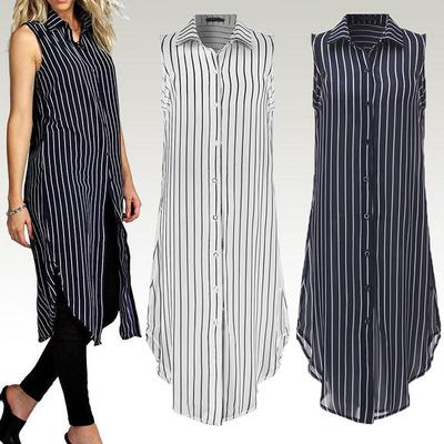 Beloved Women/¡s Casual Print Top Cotton Loose Sleeveless Maxi Dress 1 M