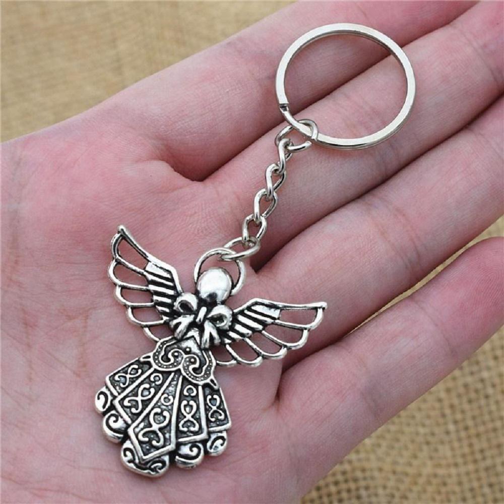 Angel Share Pendant Keychain