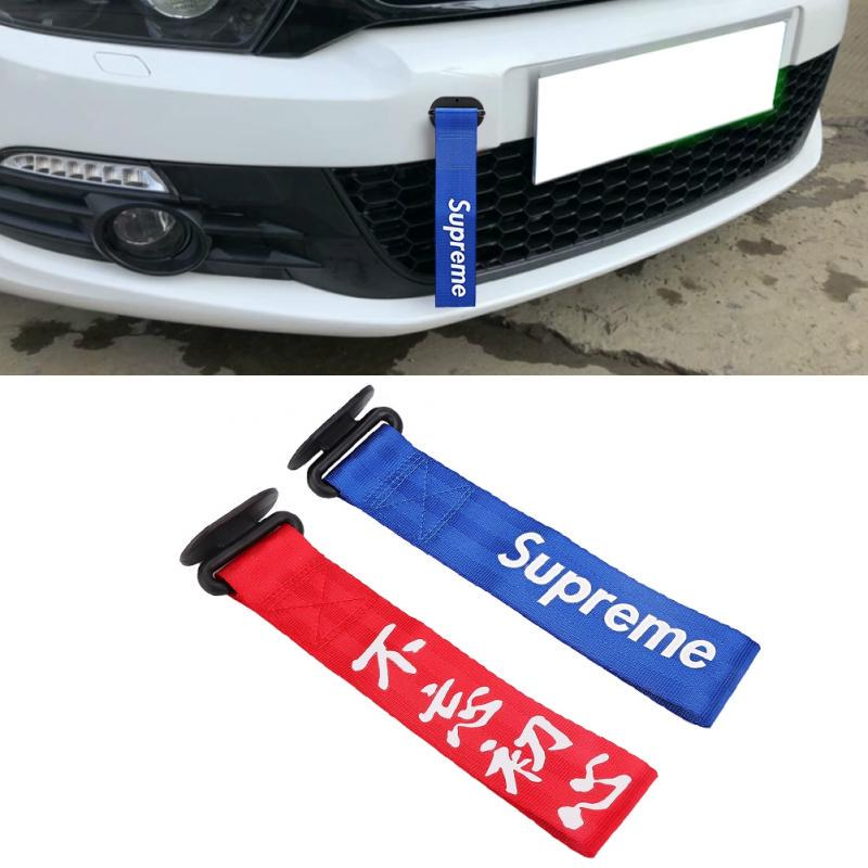 Dibiao Universal Tow Rope for Front Rear Bumper,High Strength Racing Car Tow Strap