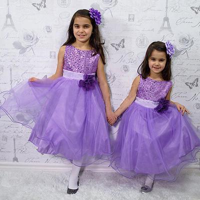 75f0290e6 Flor niños niñas princesa lentejuelas vestido niños verano marca  adolescentes ropa de traje de fiesta de boda