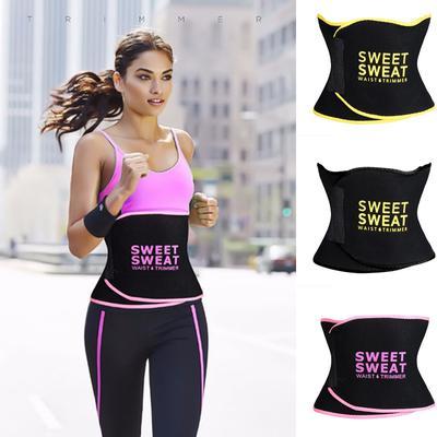 Sweat Waist Waist Trimmer Belt Stomach Slimming Fat Burn Weight