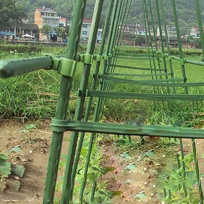 30pc 16.5cm Plastic Strap Wrap Ties Gardening Clips Plant Lashing Band Green