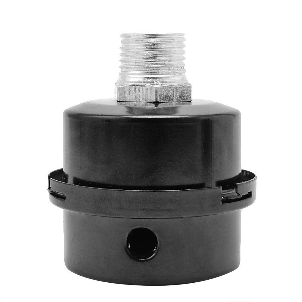 Air Compressor Intake Filter Muffler Silencer 16mm for Oil-less Air Compressor