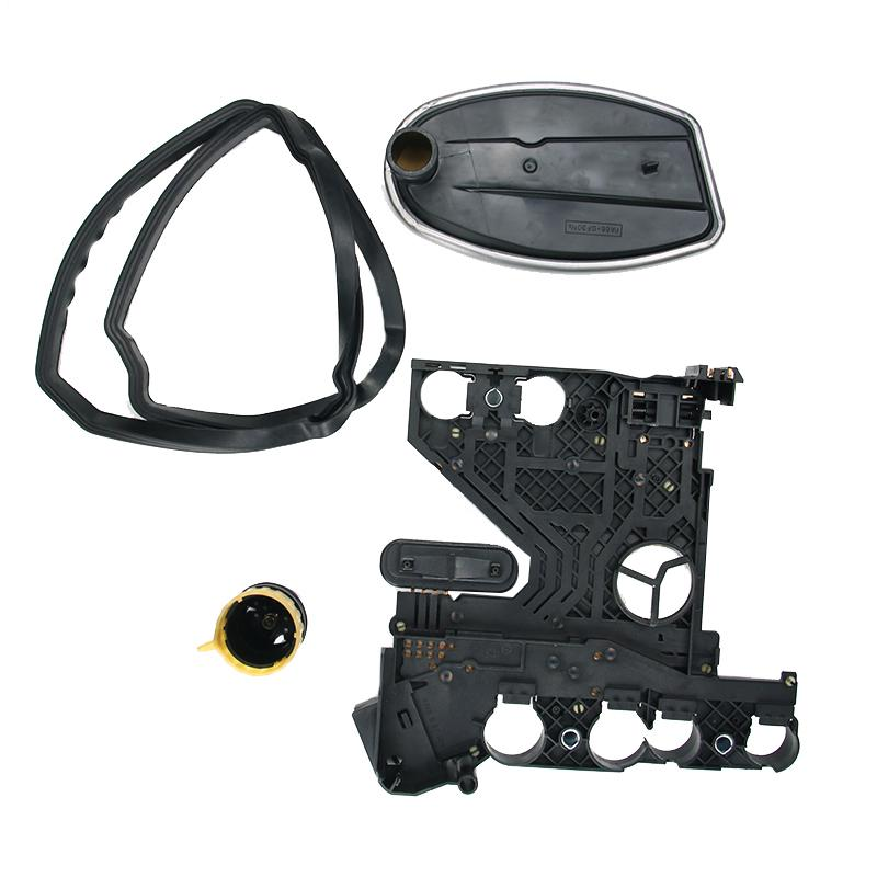 For Mercedes E-CLASS Transmission Conductor Plate+Connector+Filter+Gasket KIT