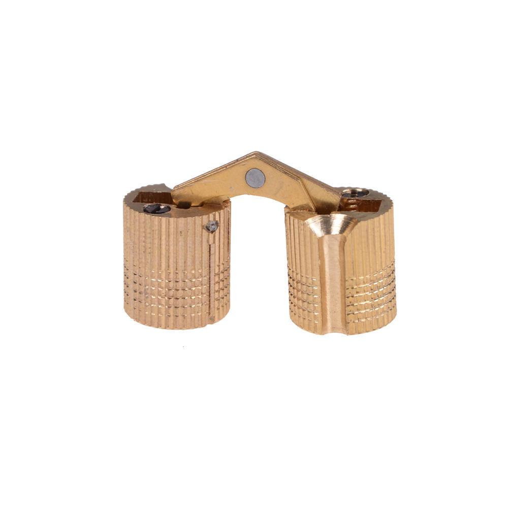 180 /° /Öffnungswinkel 4 Teile//paket Kupfer Messing Schrank Geschenkbox Verdeckte Barrel Scharnier 8mm f/ür leichte wohnwagen arbeitsplatte oder tisch und viele DIY projekte