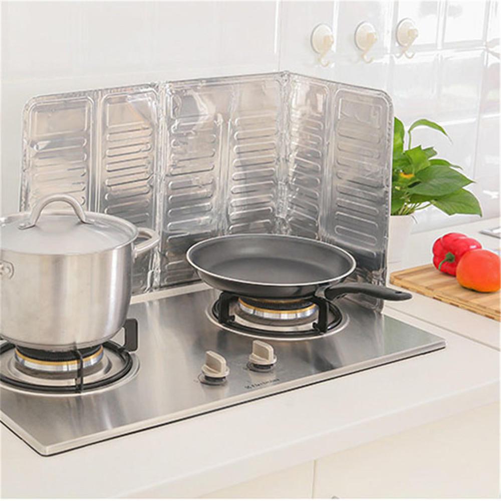 Accesorios de cocina sartén 84 * 32. 5 cm Anti salpicaduras ...