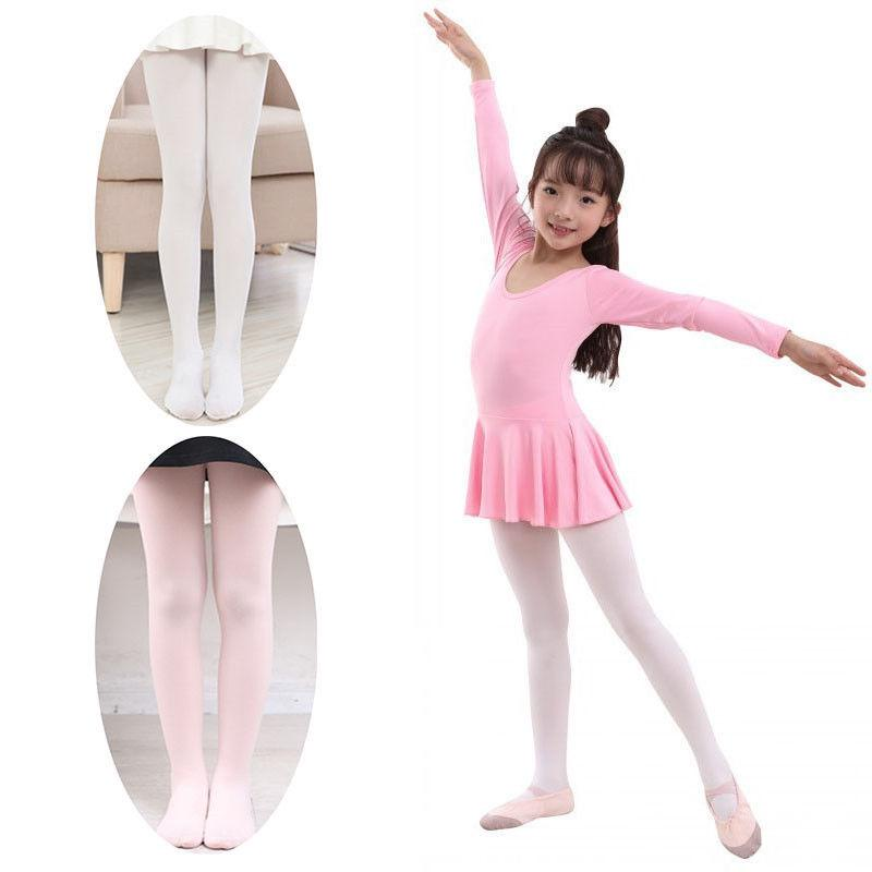 Toddler Baby Kids Elastic Soft Ballet Dance Pants Cute Bowknot Tights Pantyhose