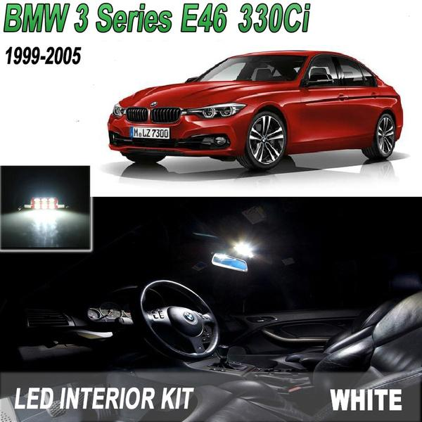 LED UPGRADE LIGHTING INTERIOR 10 LED BMW E46 3 SERIES CONVERTIBLE 1999-2005