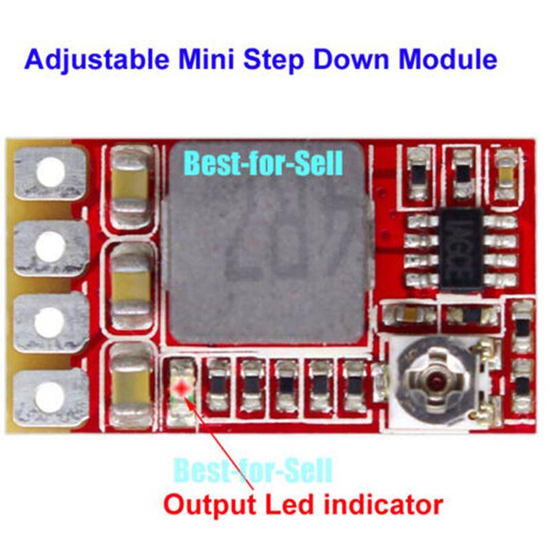 DC-DC 3.3V 5V 9V 12V Buck Step Down Converter Mini Regulator Car Power Supply