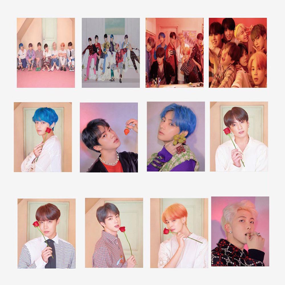 Yousheng 40Pcs BTS Альбом Карта Soul Paper Фото карты Коллективная открытка с клипом – купить по низким ценам в интернет-магазине Joom