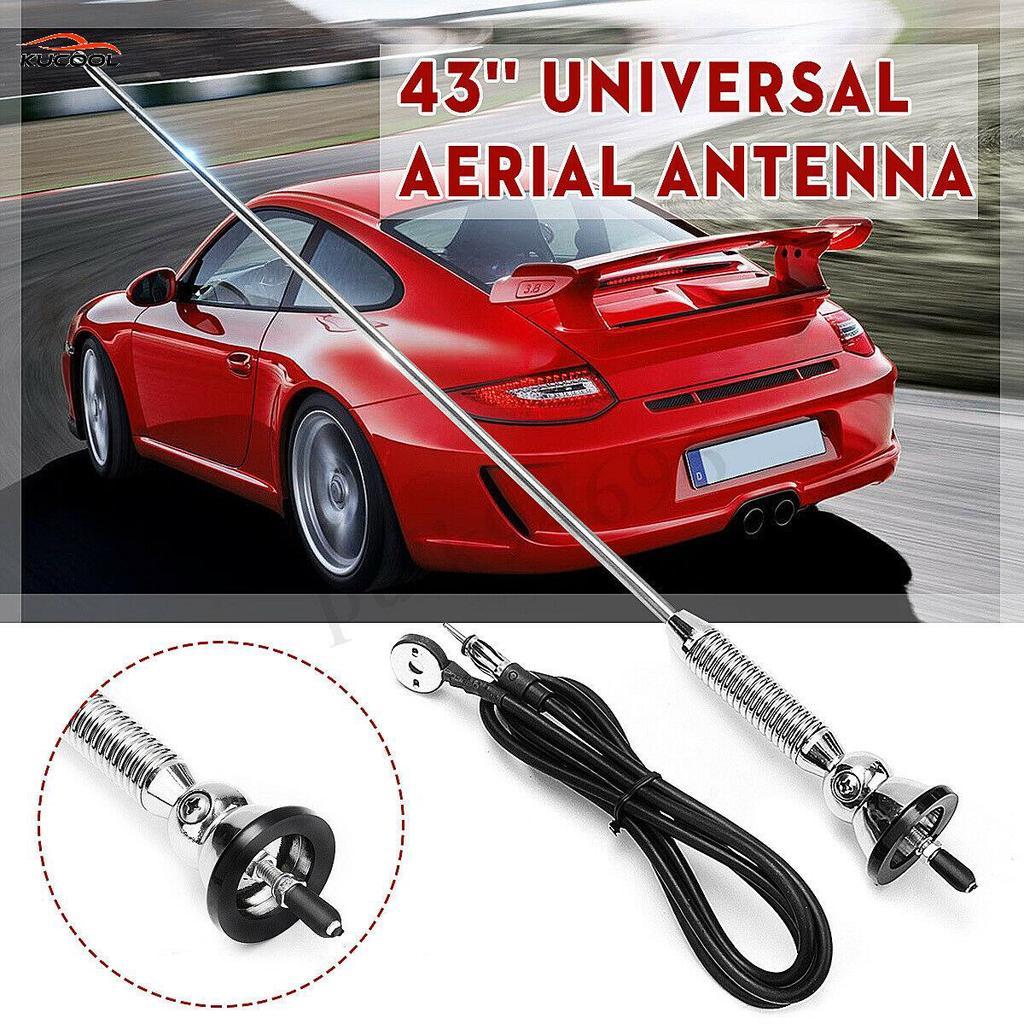 Veicolo auto elettrica ANTENNE ANTENNA MAST al FM automatico BOOSTER ANTENNA #