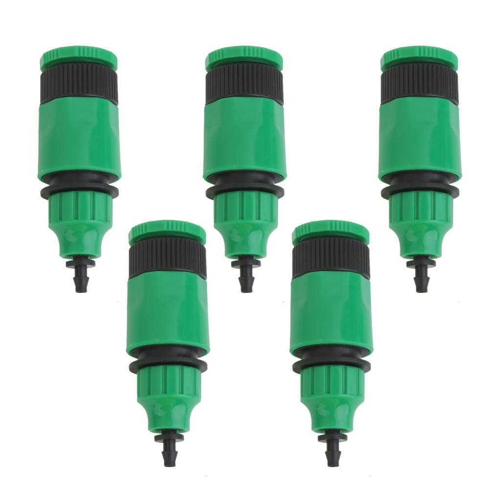5X Wasser Schlauch Adapter für Tropfbewässerung Schläuche Kapillare Schlauch.`