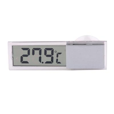 Elenxs Outdoor Indoor Mini LCD Display Round Digital Thermometer Hygrometer Fridge Freezer Temperature Meter Tester