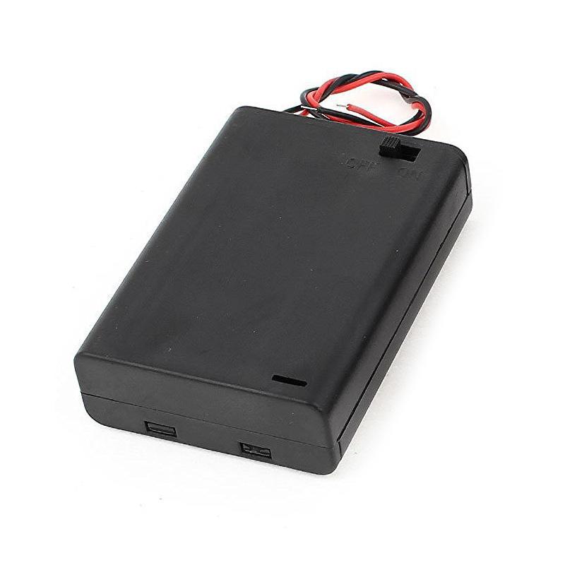 2 Stück verdrahtet auf Ausschalter 3 x AA 4.5V Batterie Halter w ...