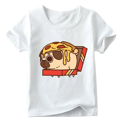 Kids Baby Boys Summer Short Sleeve Cartoon Snail Printed Cotton Blend T-shirt