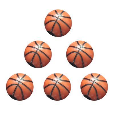 Set of 10 Football Baseball Basketball Sports Team Charms Craft Supplies DIY Lot