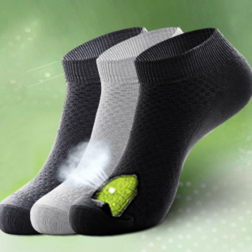 5 Pairs Men Bamboo Fiber Socks Business Anti-Bacterial Deodorant Breathable Sock