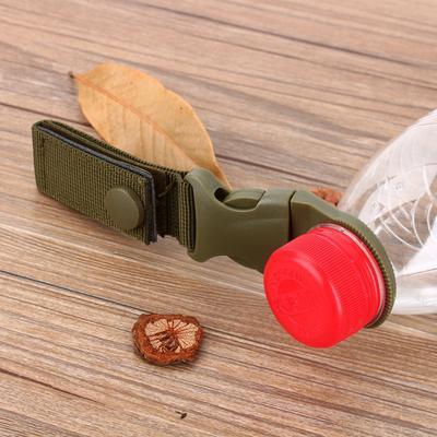 EDC Molle Tactical Nylon Webbing Buckl Hook Water Bottle Holder Clip Carabiner