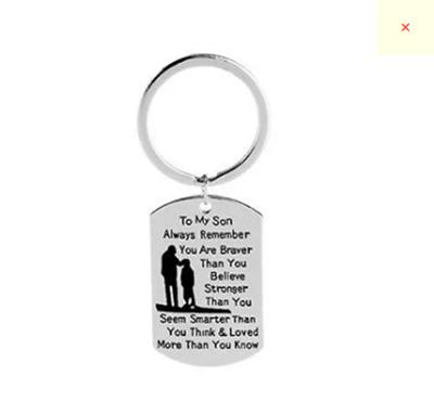 Key Chain Ring Father Dad Papa Gift Men Jewelry from