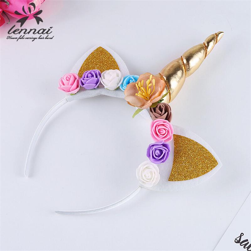 Fashion Pearl Large Flower Crown Hair band Headbands Women Girls Party Gift