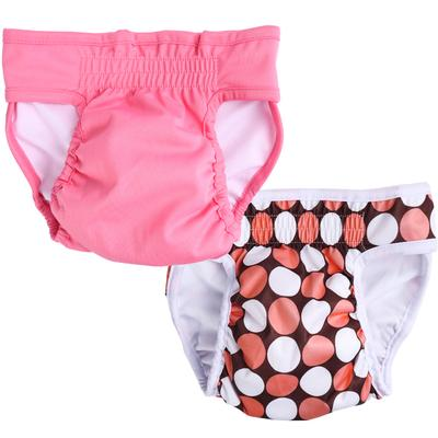 2 Pack Pet Dog Diaper Physiological Pants Washable Female Dog Sanitary Shorts Panties Menstruation Underwear Briefs