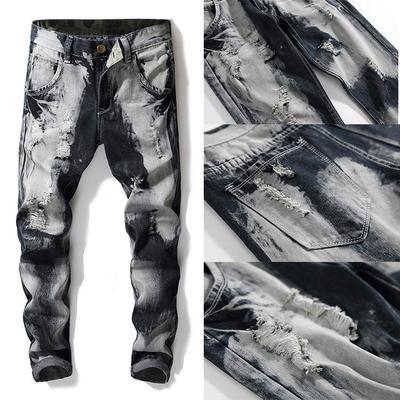 Fashion Men Rope Design Sport Pencil Pants Medieval Viking Navigator Pants