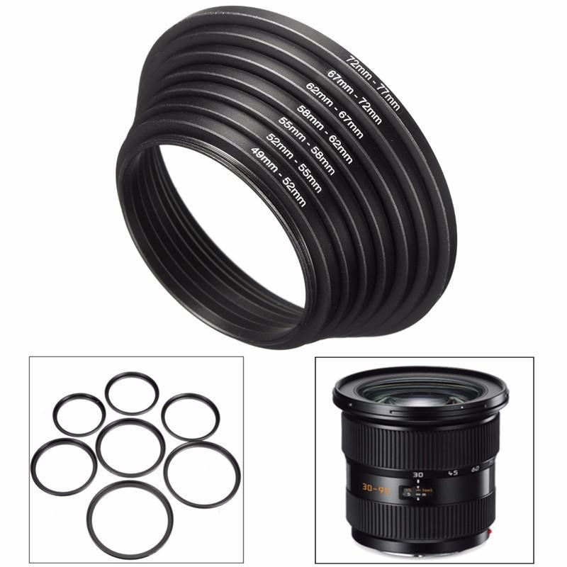 4 Pack Sensei 49mm Lens to 67mm Filter Step-Up Ring