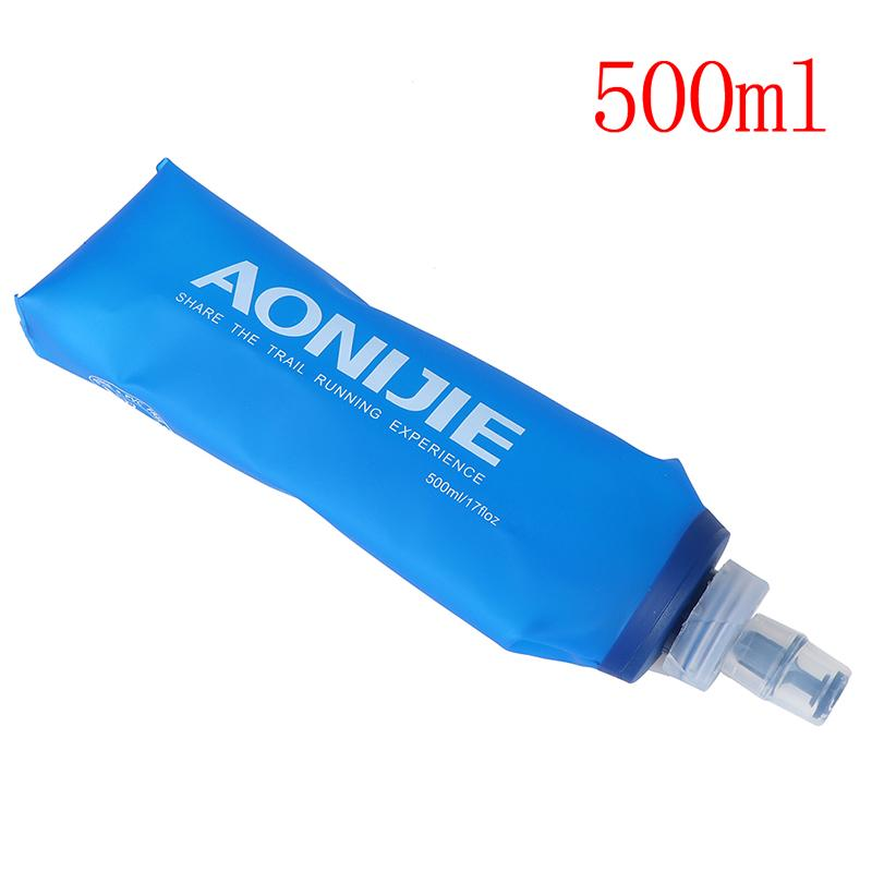 AONIJIE TPU Folding Water Bottle Soft Marathon Cup Water Bag Cup Kettle Outdo qx