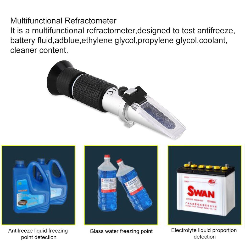 Ethylene Glycol Antifreeze >> Handheld Refractometer Adblue Ethylene Glycol Antifreeze Content Meter Atc