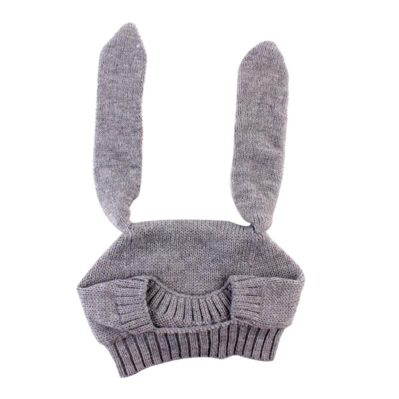 Bebé invierno sombreros niño niños niñas largo oreja conejo ...
