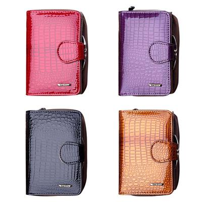 Women LeatherPuppy DogWallet Large Capacity Zipper Travel Wristlet Bags Clutch Cellphone Bag