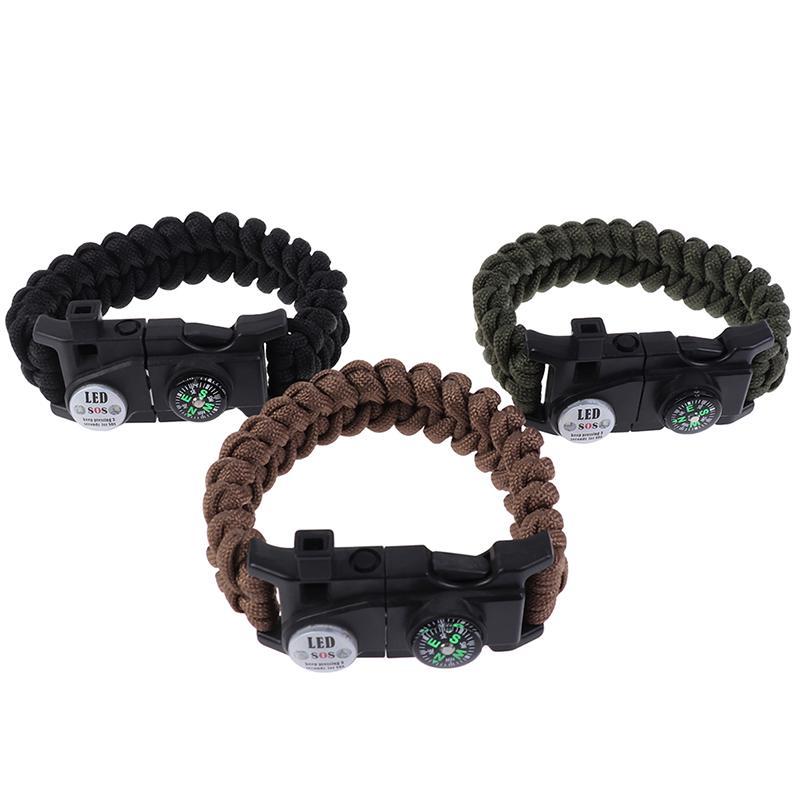 Brown Color Compass Traveling Soldier Bracelet