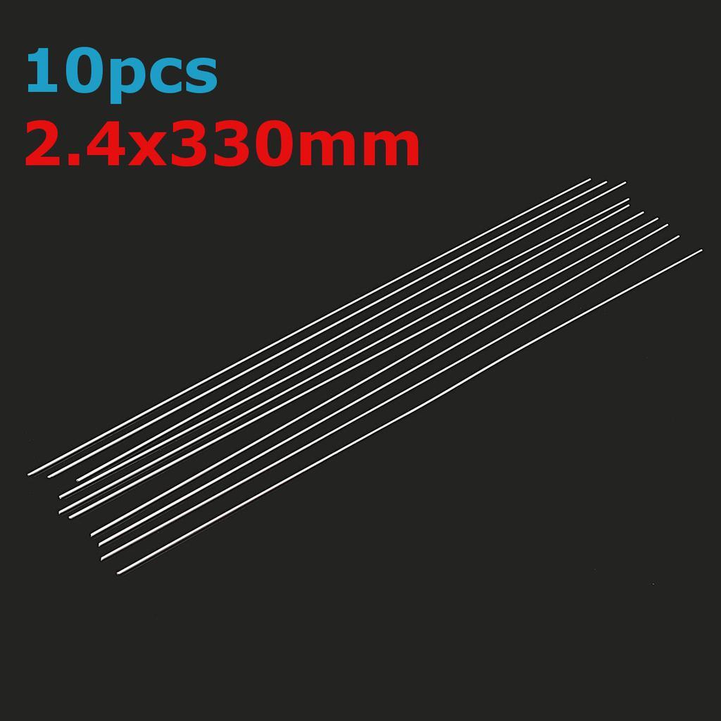10PCS basse température Aluminium Réparation Tiges pour Aluminium//GAZ//Argon soudage à l/'arc 1.6//2mm