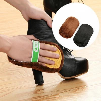 Home Use Portable Plush Shoe Glove Shoes Multifunctional Shoeshine Cloth