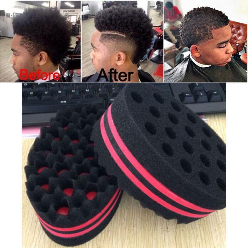 Neue Magische Friseur Haar Bürste Welle Schwamm Für Dreadlocks Afro