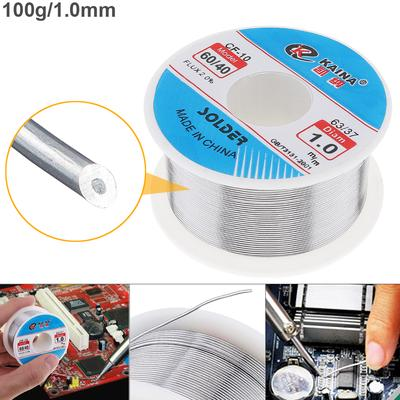 0.6mm 150g Fine Solder Wire 2/%Flux Reel Tube Tin lead Rosin Core Soldering