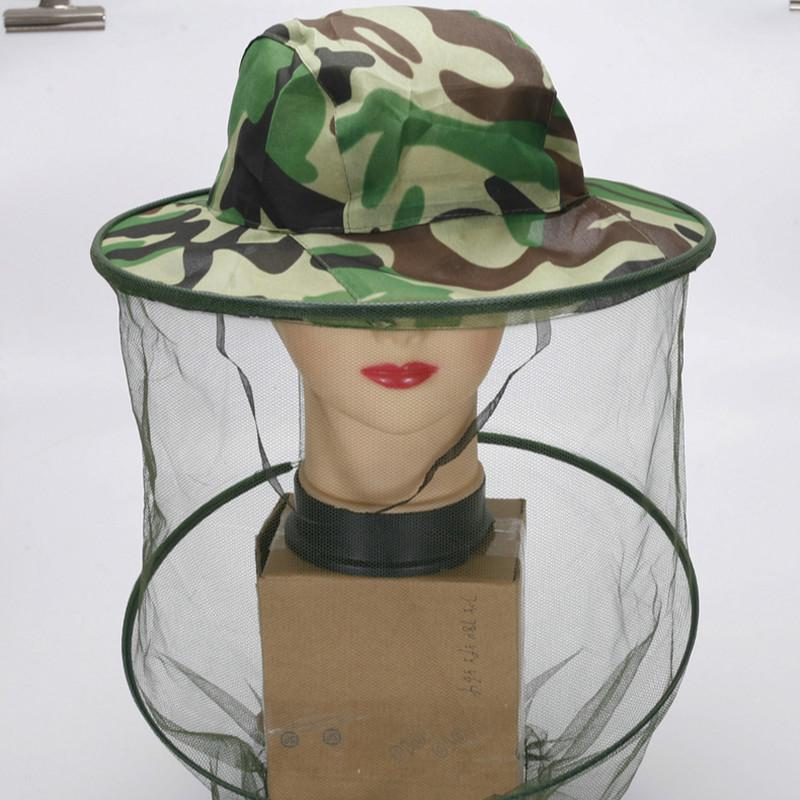 Camouflage Unlined Shawl Cap All-Matched Mosquito Cap Beekeeping Anti-Bee Jungle