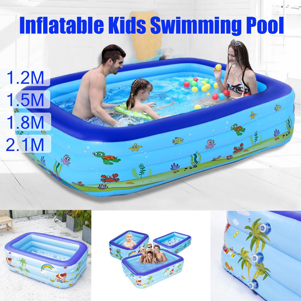 1pc Inflatable Swimming Pool Portable Outdoor for Child Balconies Terraces